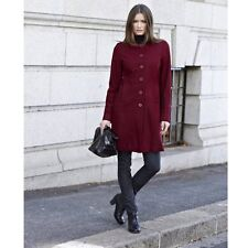 Red Coat Size 10 12 14 16 18 Fitted 60's Style Wool Blend by La Redoute RRP £79