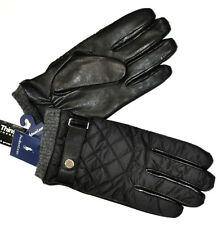 RALPH LAUREN POLO MEN'S QUILTED BARN JACKET WINTER WARM GLOVES LEATHER L XL