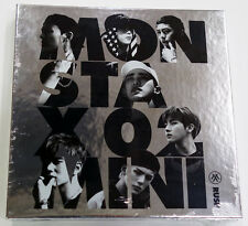 MONSTA X - RUSH (2nd Mini Album) [Official Version] CD+Booklet+Photocard+Poster