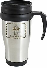 Personalised Insulated Travel Mug - Durable - Free Delivery