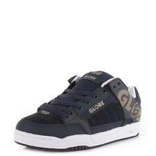Mens Guys Globe Tilt Navy Olive Chunky Technical Skate Trainers Shoes  Size