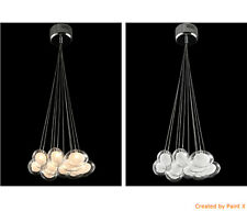 Modern LED Pendant lamp Chandeliers Glass Ball Ceiling Lights with LED