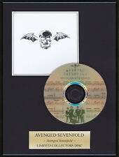 AVENGED SEVENFOLD - Framed CD Presentation Disc Display - MULTI LISTING