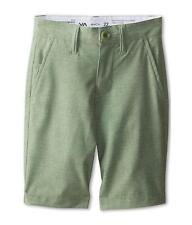 RVCA Benefits Hybrid Shorts Mens Heather Green Walkshort Boardshort New NWT