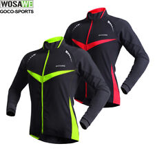 Windproof Mens Cycle Jacket Cycling Jersey Winter Thermal Water Resistance Coat