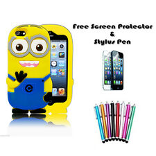 Despicable Me Minion Soft Silicone Gel Rubber Case Cover For Apple iPod Touch 4