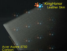 New KH Special Laptop Carbon Leather Cover Skin Protecotor For Acer Aspire 5750