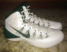 NEW Mens 16.5 NIKE 2013 Zoom Hyperdunk TB White Green Basketball Shoes Sneakers