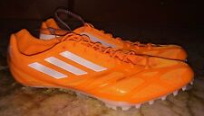 New Mens 13 ADIDAS AdiZero Prime Finesse 2 Sprint Track Spikes Shoes ORANGE