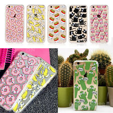 3D Interesting Moving Eyes Cartoon TPU Phone Case For iPhone 5S/6S/7plus/Samsung