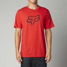 NEW FOX RACING MENS LEGACY FOX HEAD SS TEE SCARLET SHORT SLEEVE S/S T SHIRT
