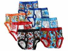 DISNEY PIXAR BRIEFS ASSORTED CHARACTERS 7-pack Toddler Boys Sizes 2T/3T, 4T NEW