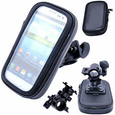 Waterproof Rotating Bicycle Bike Mount Handle Bar Holder Case For Cell Phones
