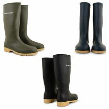 LADIES DUNLOP RAIN WELLIES WOMENS WATERPROOF WELLINGTON LONG BOOTS SHOES SIZE