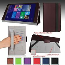 """For ASUS Transformer Book T90CHI  8.9"""" Tablet Folio PU Leather Smart Case Cover"""