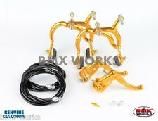 Dia-Compe Gold & Black MX890 with MX121 (Tech 3) Levers Package Old School BMX