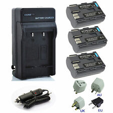 Li-ion Battery / Charger Pack for Canon PowerShot G1 G2 G3 G5 G6 Digital Camera