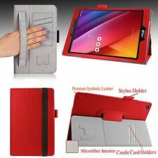 Folio Smart Case Cover Stand w/ Sleep/Wake Up For ASUS ZenPad S 8 8-inch Tablet