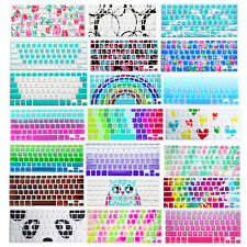 """Silicone Soft Decal Prints Keyboard Cover for Macbook Air Pro 13""""15""""11""""12""""Retina"""