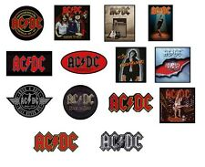 # AC/DC acdc OFFICIAL SEW-ON PATCH patches logo stiff upper lip powerage