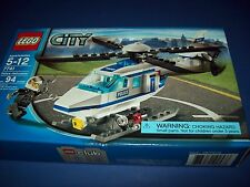 LEGO 7741 CITY POLICE HELICOPTER ~ EASY BUILD Ages 5+  with mini figure NEW NIB