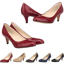 WOMENS LADIES HIGH HEELS BRIDAL PROM EVENING PARTY CROCODILE SHOES SIZE UK 4-11