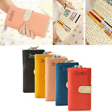 Fashion Ladies Women Wallet Long Wallet Purse Zip Wallet Handbags Clutch Purse