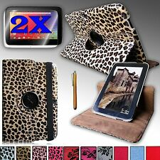 For GOOGLE NEXUS 10 (SAMSUNG) PU Leather 360 Rotating Stand Case Cover