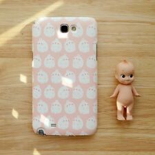 Cute Molang Phone Hard Back Skin Case Cover for Smart Phone -Pink molang pattern