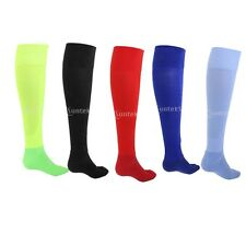 FOOTBALL SOCKS KNEE HIGH HOCKEY RUGBY SOCCER Unisex KIDS ADULTS SPORTS RUNNING