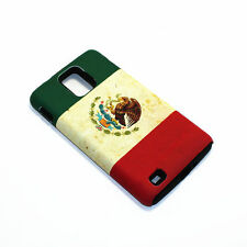 Mexico Flag Hybrid ShockProof Phone Cover Case For Samsung Infuse 4G I997