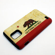 California State Flag Hybrid ShockProof Cover Case For Samsung Infuse 4G I997