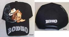 """ Rodeo"" Embroidered Baseball Caps Hats 1Pc or Wholesale 6 Pc Lot  (EGRodeo5#)"
