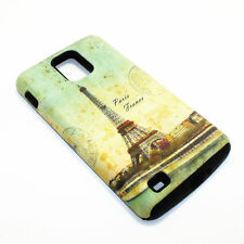 Paris Eiffel Tower Hybrid ShockProof Phone Cover Case For Samsung Infuse 4G I997
