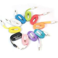3.5mm Stereo Car Auxiliary Audio Cable Male To Male For Smart Phone IOS Android