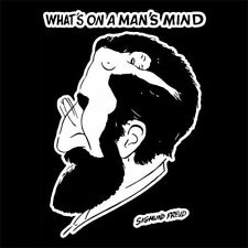 SIGMUND FREUD WHAT'S ON A MAN'S MIND (psychology book psychotherapy) T-SHIRT