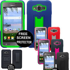 Hybrid Rugged Case Cover For Samsung Galaxy Grand Prime S920C Staright talk