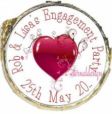 PERSONALISED ENGAGEMENT PARTY DIY MINT CRISP CHOCOLATES FAVOURS SWEETS EPMC13
