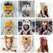 Cartoon Animal Hat Fluffy Plush Cap - Unisex - Perfect Gift for Him or Her