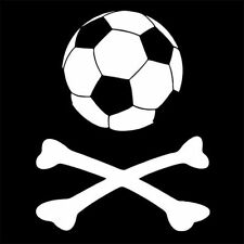 PIRATE FOOTBALL (ultras hooliganism skull beer soccer hooligan team) T-SHIRT