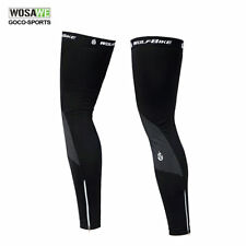 SAHOO Cycling Bike Leg Warmer Guard Knee Running Warmer Leg Warmer Lycra Fleece