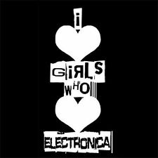 I LOVE GIRLS WHO LOVE ELECTRONICA (music dance trance remix dj sound) T-SHIRT