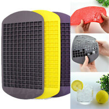 New 160 Ice Cubes Frozen Cube Bar Pudding Silicone Tray Mould Mold Tool 043
