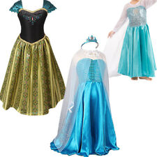 Princess Queen Dress up Costume Christmas Ball Gown Toddler Child Girl 3-8