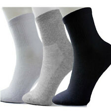 5 Pairs Men's Breathable Socks Winter Thermal Casual Soft Cotton Dress Socks