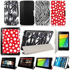 PU Leather Premium Slim Fit Folio Stand Case Cover For Kindle,Asus,Samsung Tab