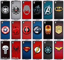 Marvel / DC Comics Super Heroes Phone Case For Sony Xperia Z5 & Z5 Compact