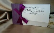 Wedding Day or evening Invitations + Envelopes, FREE RSVP cards,Free postage,,,,