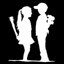 BANKSY BOY MEETS GIRL (graffiti anti love punk poster canvas valentine) T-SHIRT