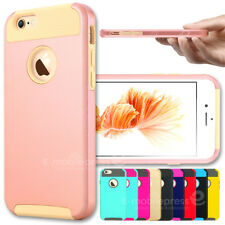 PC Hard Matte Shockproof Dirt Dust Proof Fitted Case Cover For iPhone 6 6S Plus